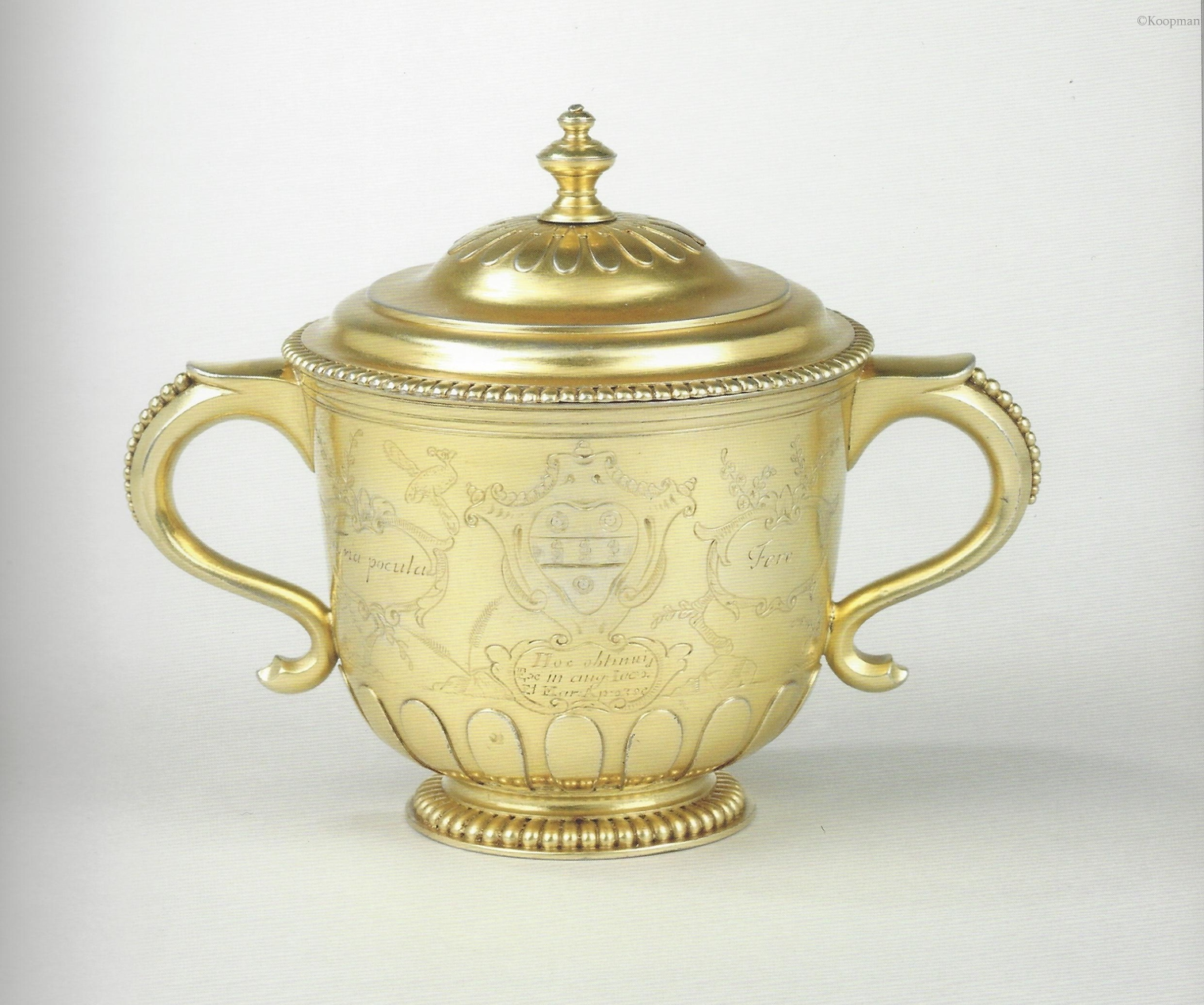 A Historic & Important James II Cup & Cover