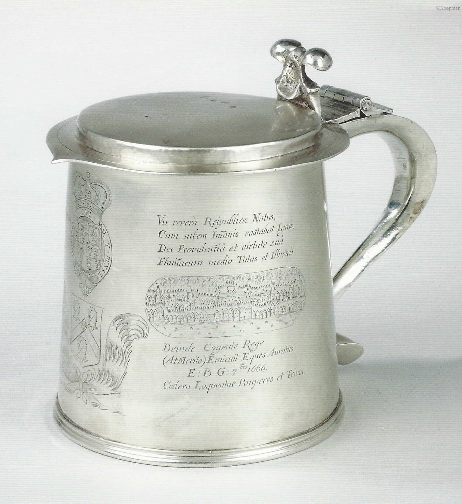 The Fire of London Flagon & Tankard