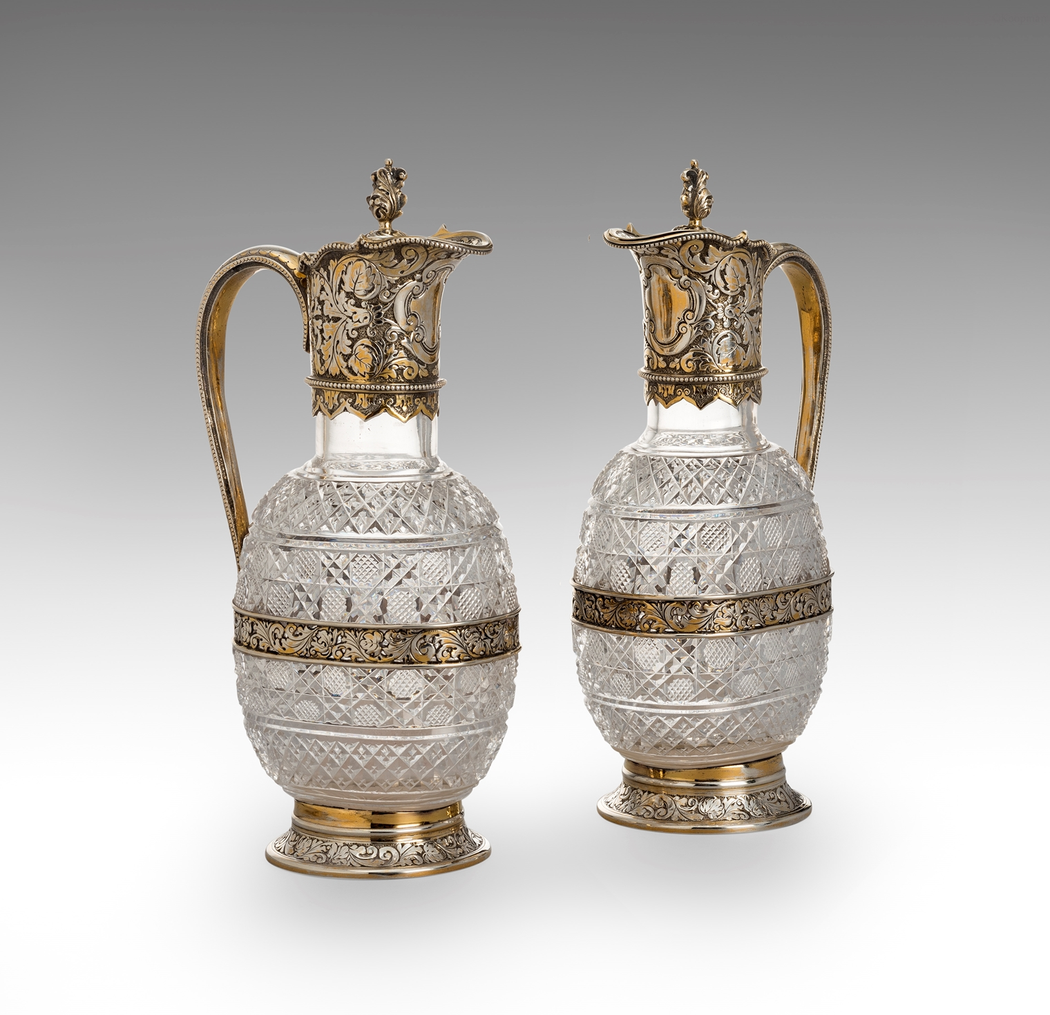 A Pair of Victorian Spirit Decanters