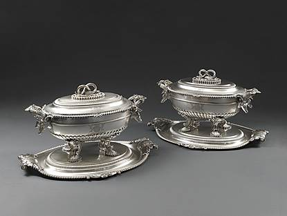 The Cavendish Soup Tureens