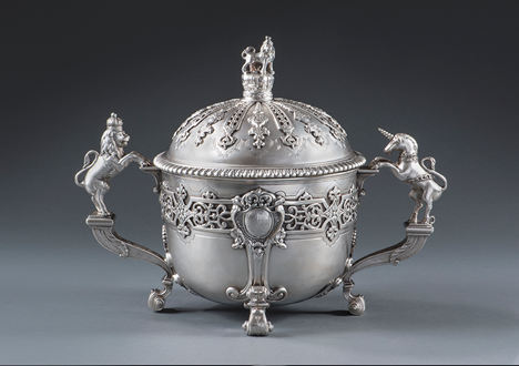 A Royal Christening Gift of George II to his Goddaughter Lady Emilia Lennox