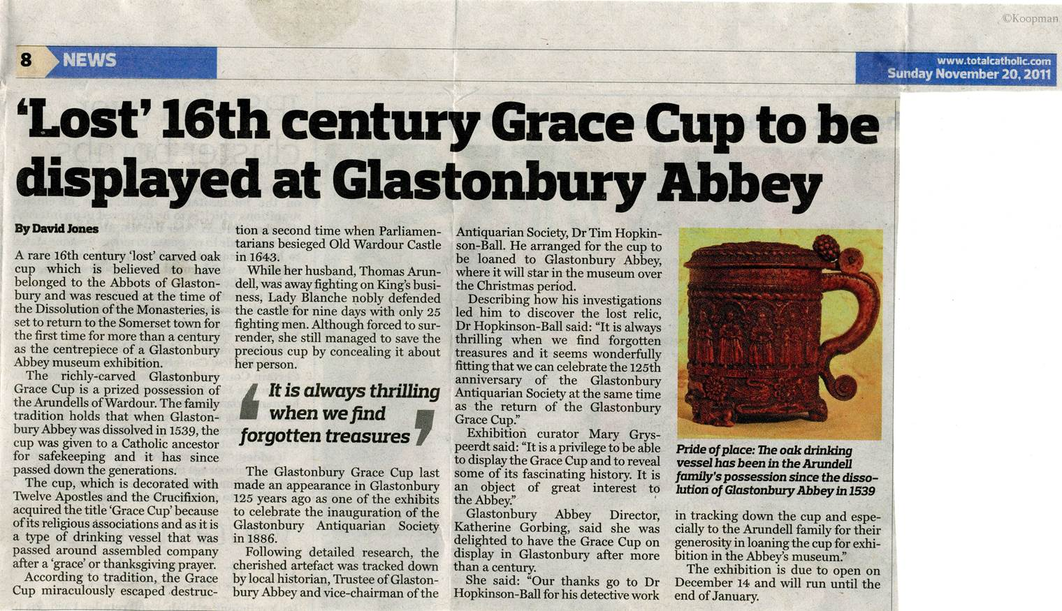 The Glastonbury Cup