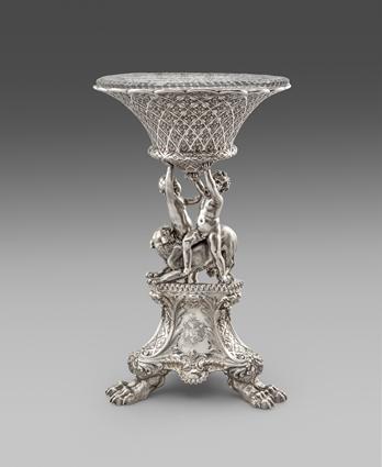 A William IV Figural Centrepiece