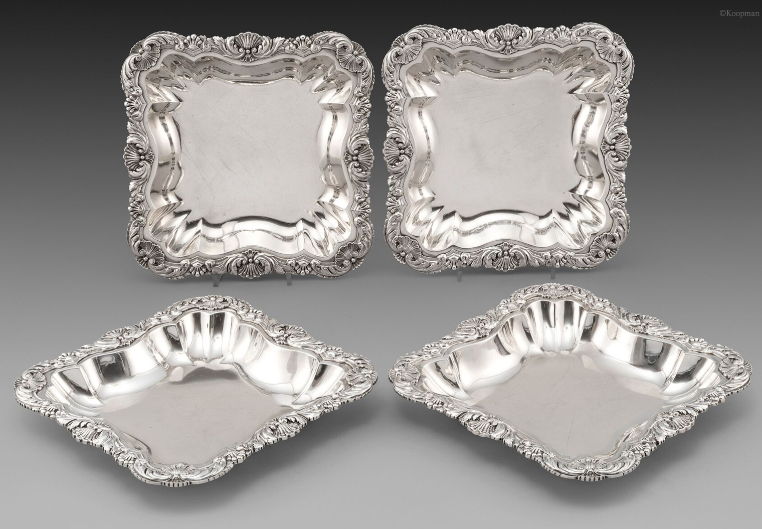 The Earl of Shaftsbury's Serving Dishes