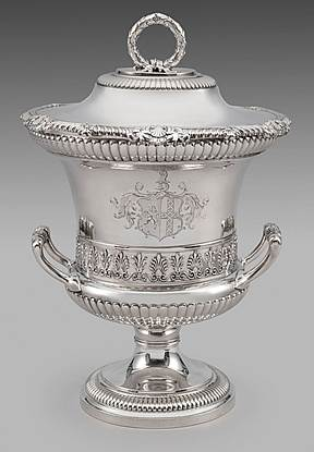 An Elegant Regency Cup & Cover