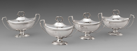 The Earl of Eglinton's Sauce Tureens