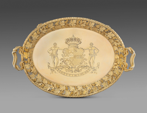 The Earl of Ailesbury's Tray