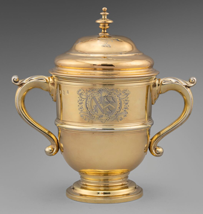 A George I Two-Handled Cup & Cover