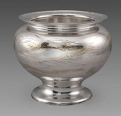 A Japanese Meiji Period Punch Bowl