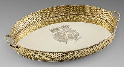 A Royal Gift from George II to his Godson George Frederick Sackville