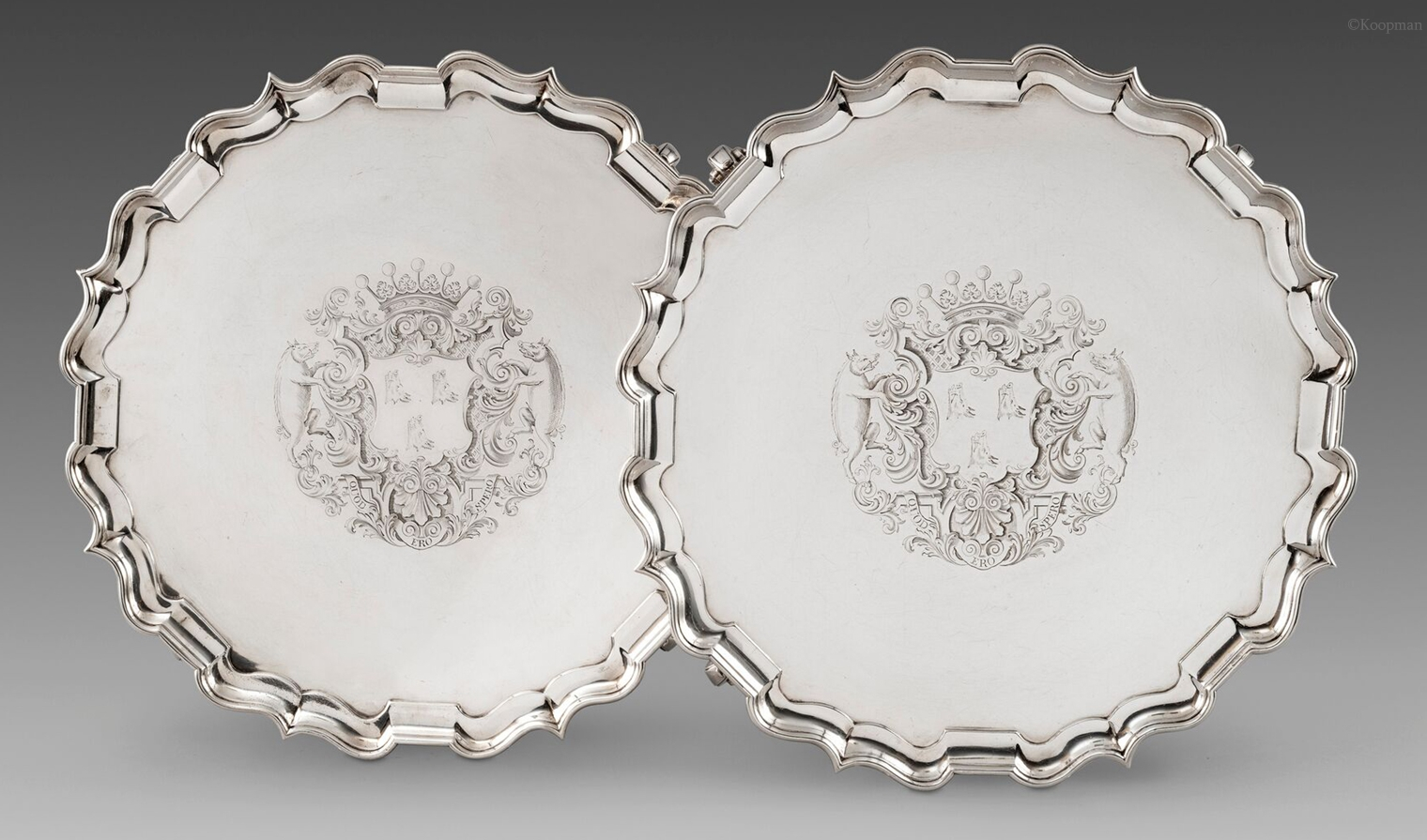 The Earl of Warrington's Salvers