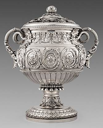 An Imposing & Extremely Rare George III Vase & Cover