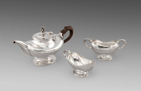 A George V Three Piece Tea Set