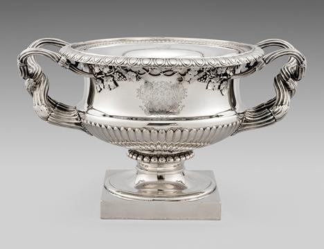 A Superb George III 'Warwick Vase' Wine Cooler