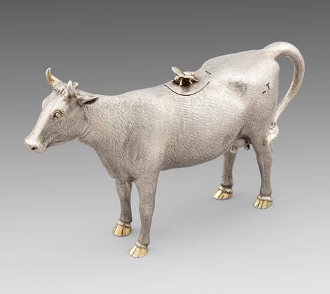 A Victorian Cow Creamer