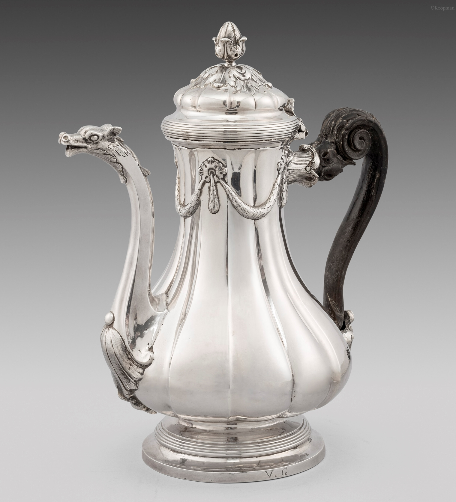 An Important Italian 18th Century Coffee pot