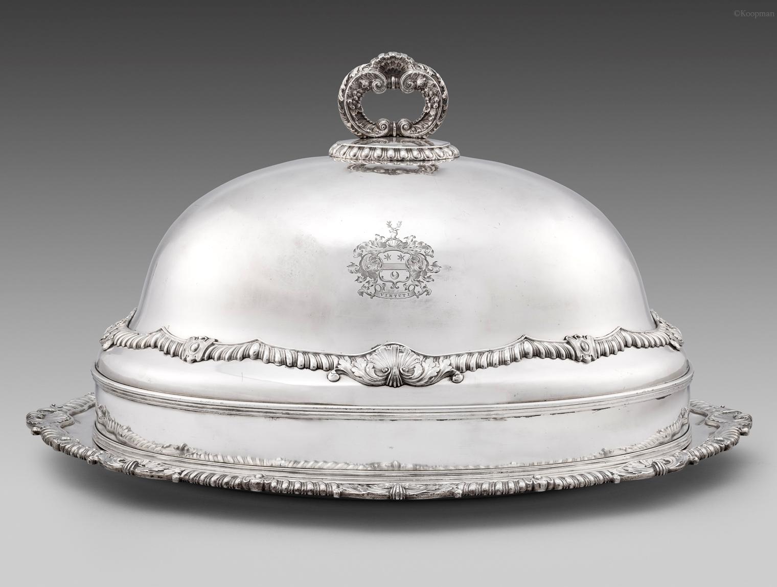 A George III Meat Dish