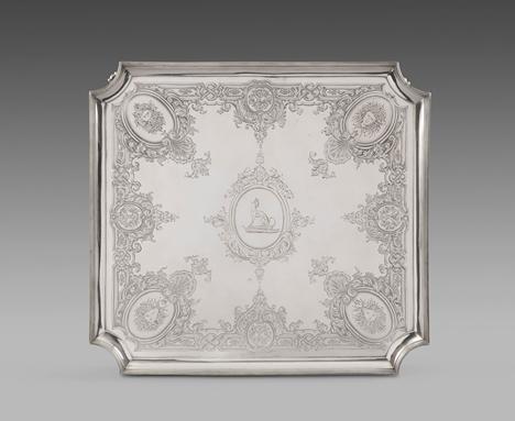 An Elegant George III Square Salver