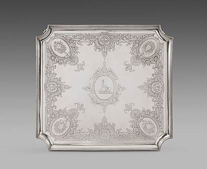 An Elegant George III Square Salver