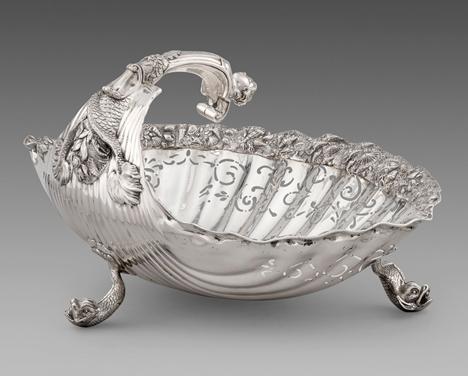 A George III Shell Bowl