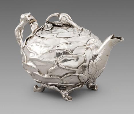 A Victorian teapot