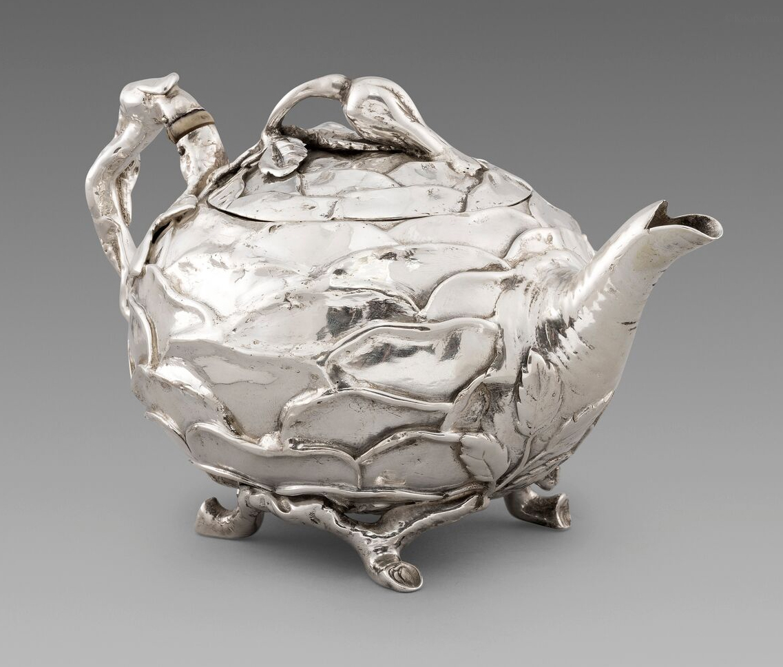 A Novelty Cabbage Shaped Teapot
