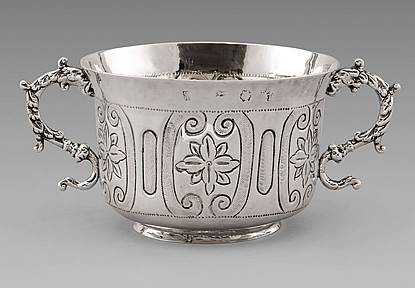A Commonwealth Porringer
