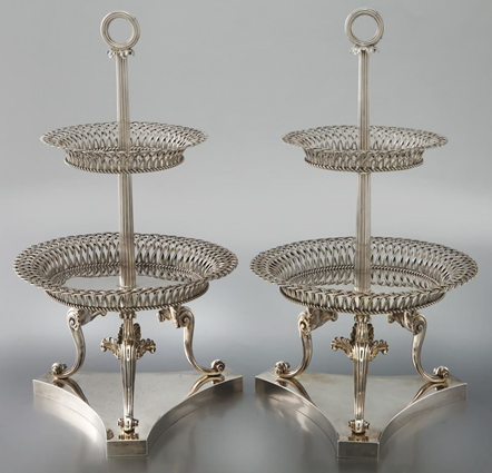 A Pair of George IV Dessert Stands