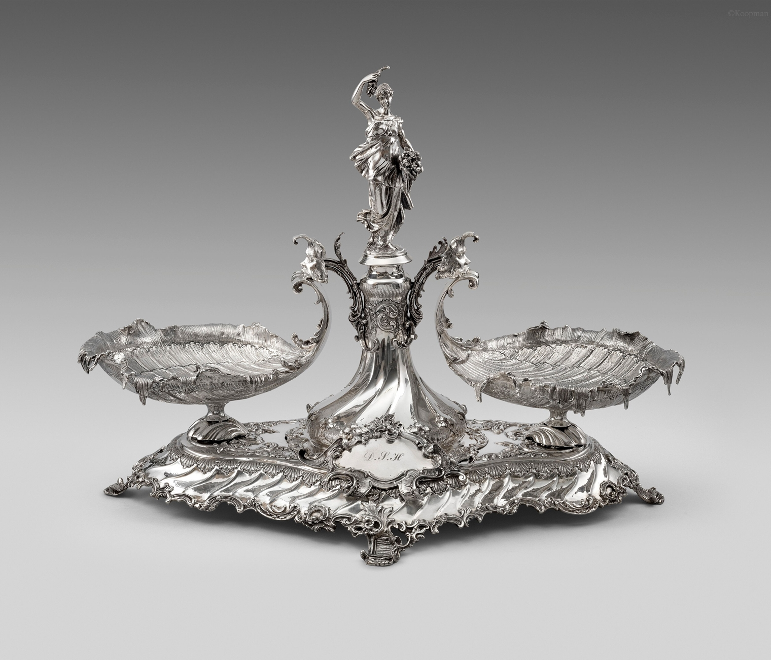 A German Silver Centrepiece