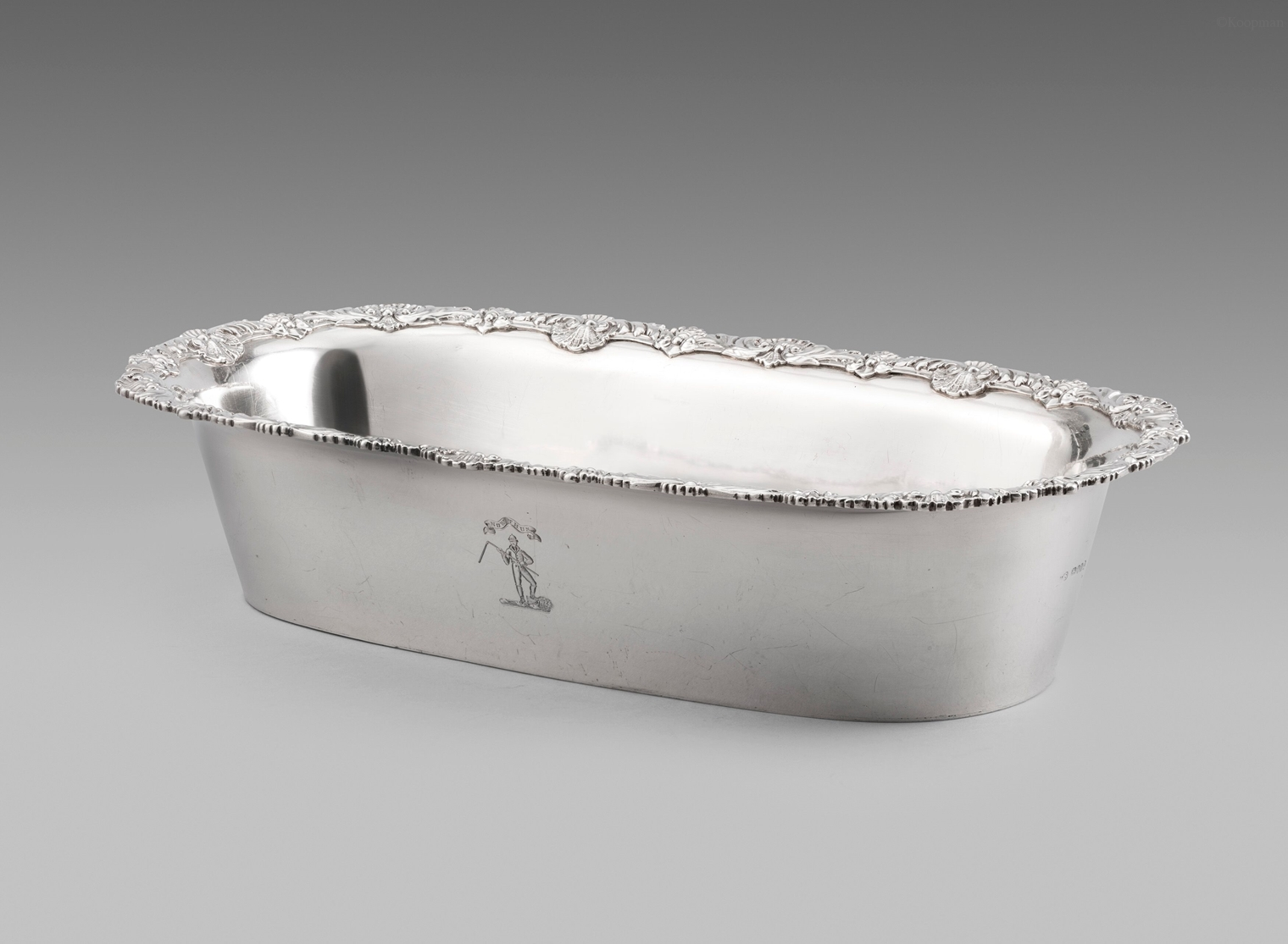 A George III Knife Tray