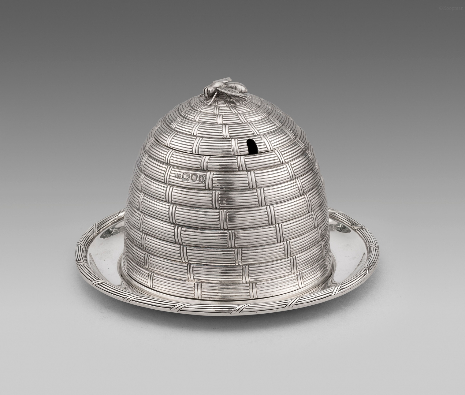 An Edward VII Honey Pot