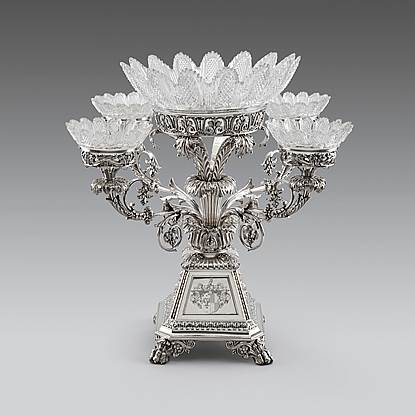 A George IV Epergne Centrepiece