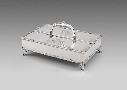 A Historic George III Treasury Inkstand