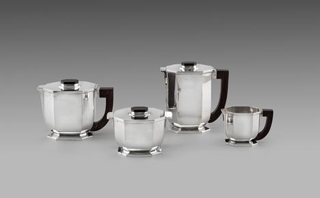 A French Art Deco Tea & Coffee Service