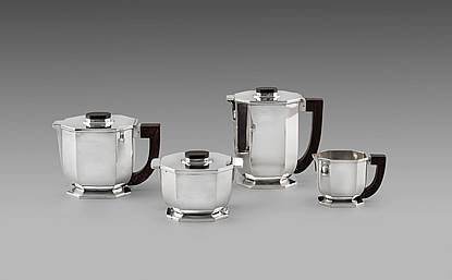A French Art Deco Tea & Coffee Service