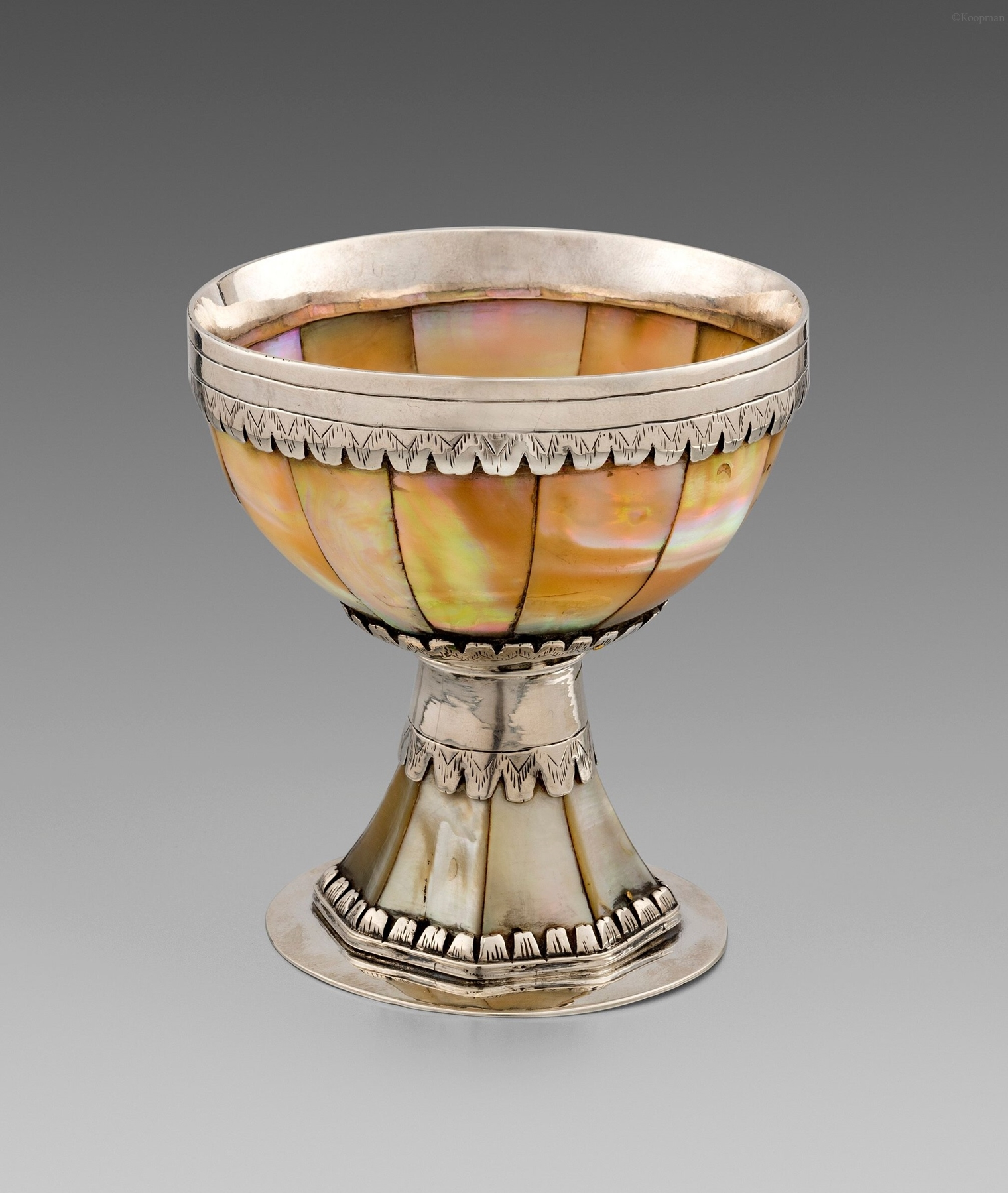 An Extremely Rare 17th Century English Goblet