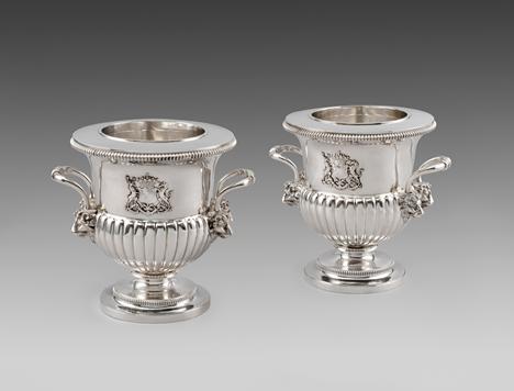 A Pair of George III Wine Coolers