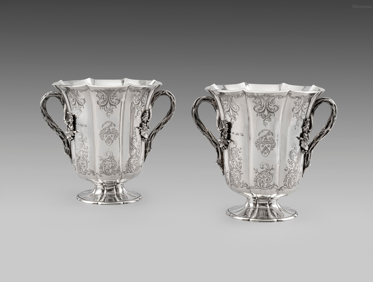 A Pair of Victorian Wine Coolers