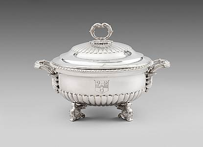 A George III Soup Tureen