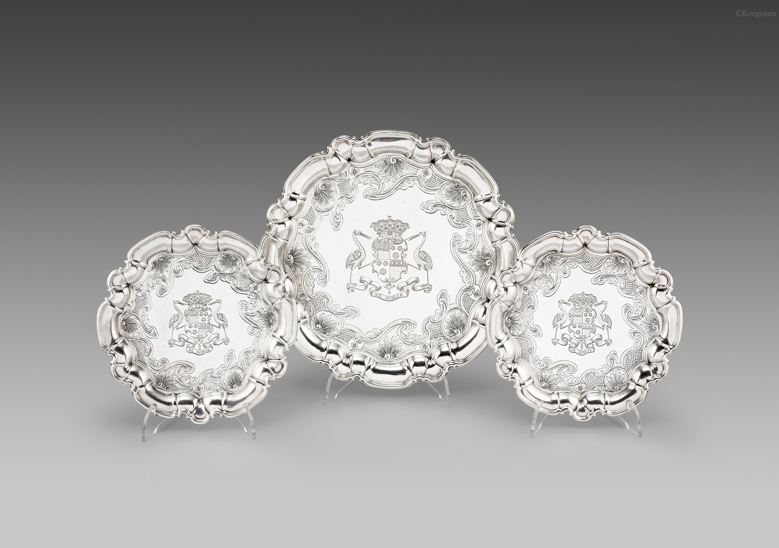 The Duke of Montrose's Salvers