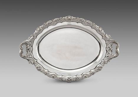 A George IV Tray