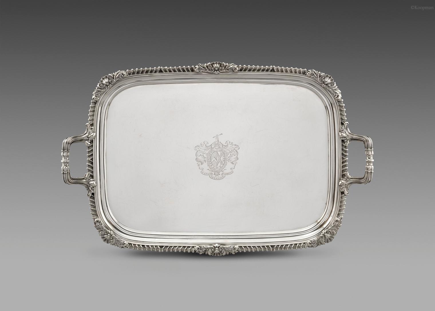 A George IV Tray