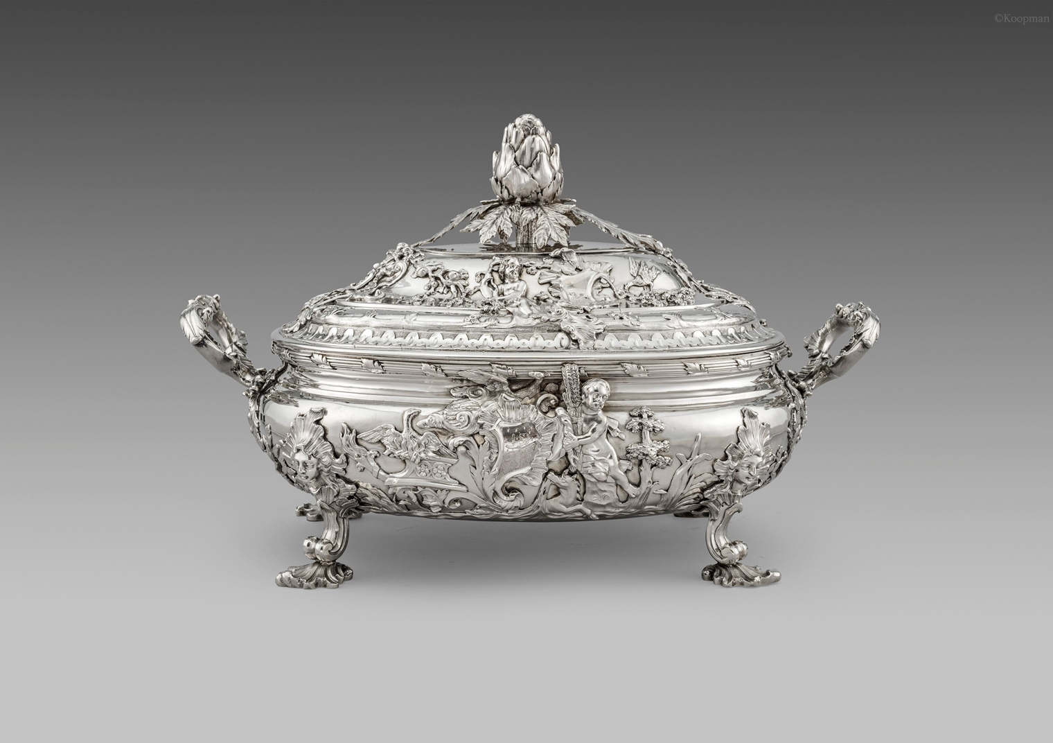 A Rococo Masterpiece - George II Soup Tureen