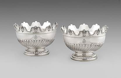 A Pair of George V Monteith Bowls