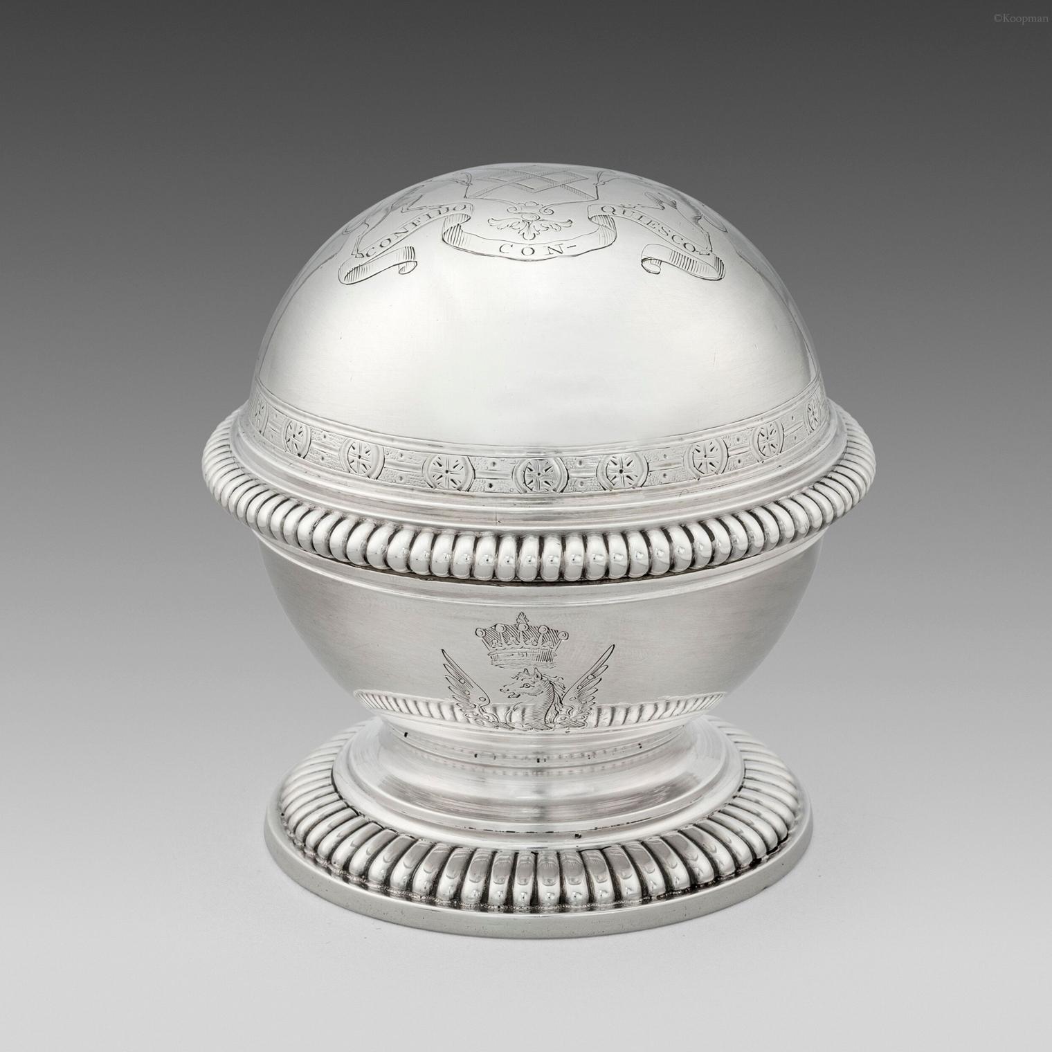 A George II Soap Box
