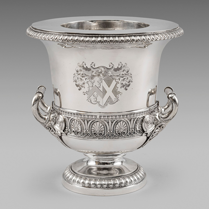 A George IV Two-Handled Wine Cooler