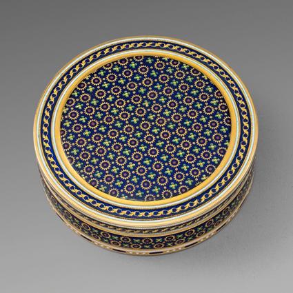 A Gold & Enamel 18th Century Bonbonnière