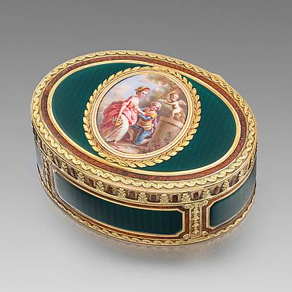 A German Gold Snuff-Box