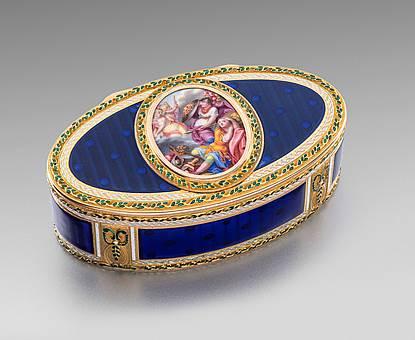 A German Enamelled Gold Box