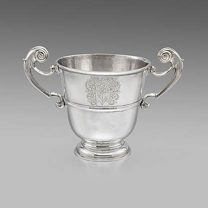A George I Irish Loving Cup